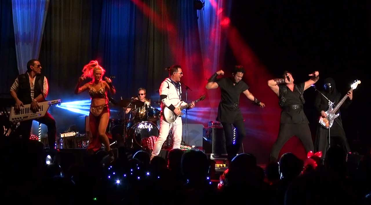 Party Crashers Band in Star Wars Costumes