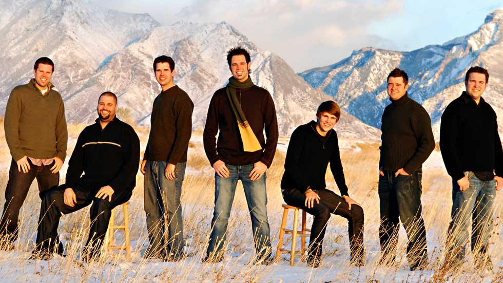 Osmond Brothers Second Generation Promotional Mountain Photo