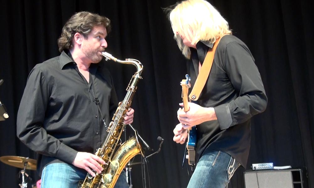 The Number Ones Sax and Guitar
